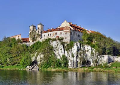 Benedictine abbey in Tyniec, Krakow, Poland